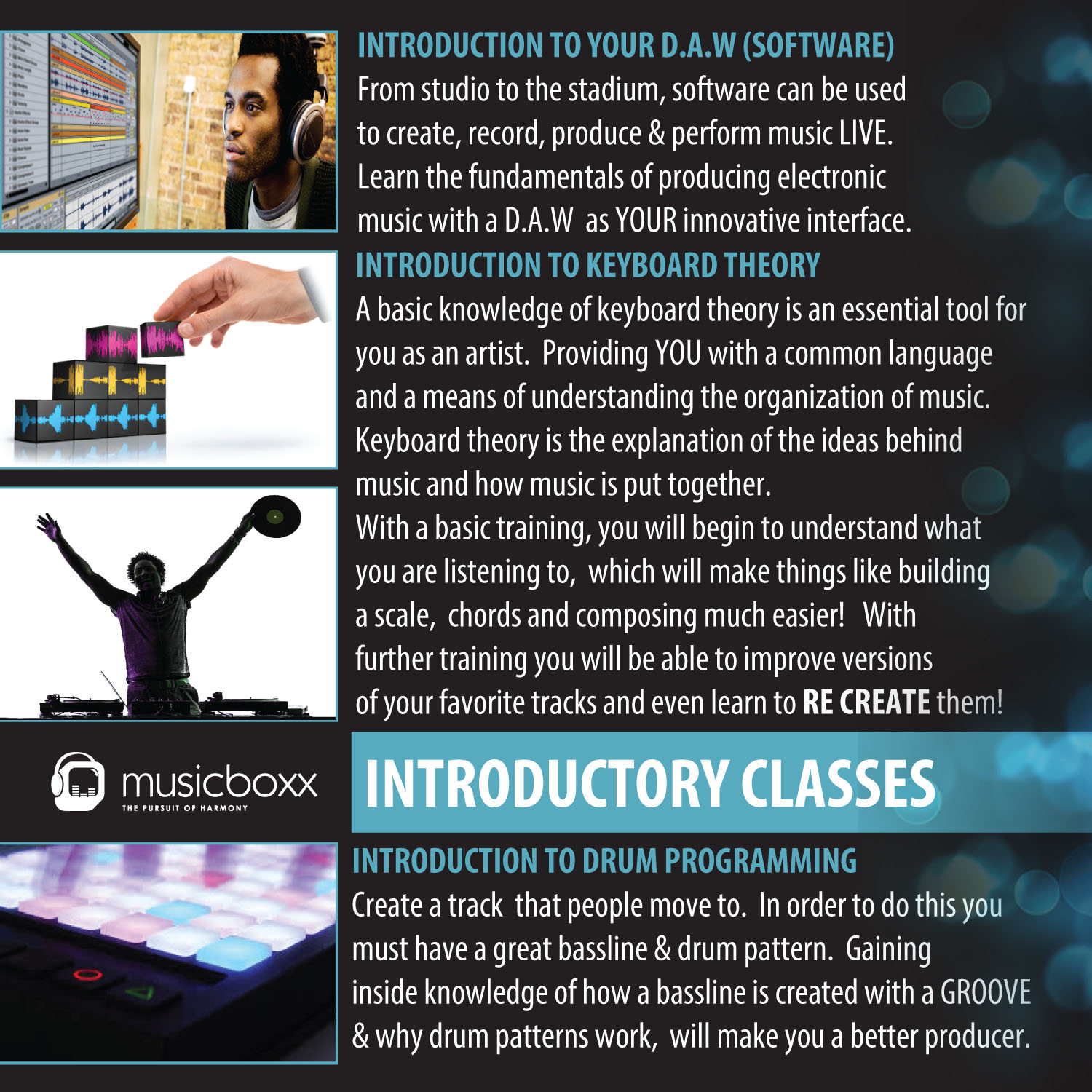 INTRODUCTORY CLASSES